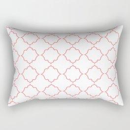 Moroccan Coral Rectangular Pillow