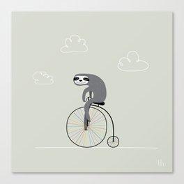 The Happy Ride Canvas Print