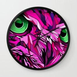 Geometric Owl pop-art Wall Clock