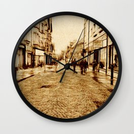 High Street, Fort William, Scotland Wall Clock
