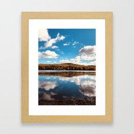 Lake Iroquois — Williston, Vermont Framed Art Print