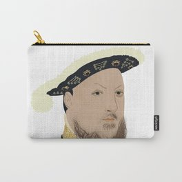 Henry VIII of England - transparent background Carry-All Pouch