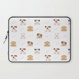 Puppy Dog Baby Nursery Wall Art Laptop Sleeve