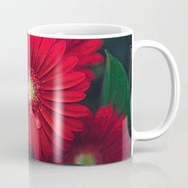Red Daisy #Gerberas Coffee Mug