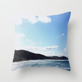 The Great Ocean Road Throw Pillow
