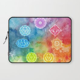 Chakras Laptop Sleeve