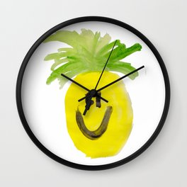 Just Mr. Pineapple Wall Clock