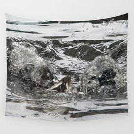 TEXTURES -- Troubled Waters Wall Tapestry