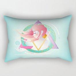 Zodiac Geometry :: Pisces Rectangular Pillow