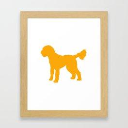 Goldendoodle Doodle Framed Art Print