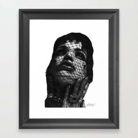 Glamour. Framed Art Print