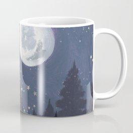 Full Moon Landscape Coffee Mug
