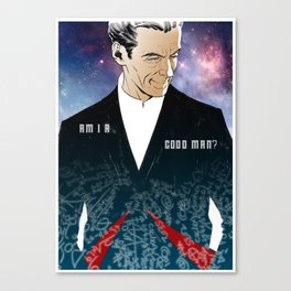 Twelfth Doctor Canvas Print