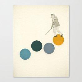 Tap Dancing Canvas Print