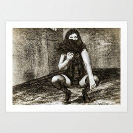 Ex/tasy #7 Art Print