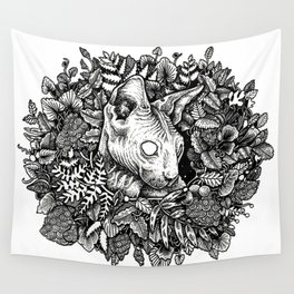 [sphynx.] [me hard.] Wall Tapestry