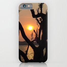 Beautiful sunset at Koh Mak Thailand iPhone Case