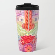 the all seing tranquility mask Travel Mug