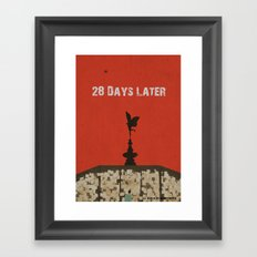 28 Days Later Framed Art Print