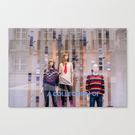 A collection of 3 Canvas Print