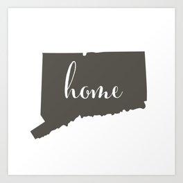 Connecticut is Home Art Print