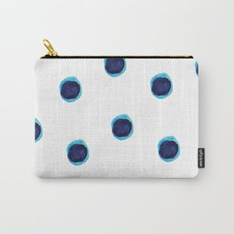 Happy Blues Carry-All Pouch