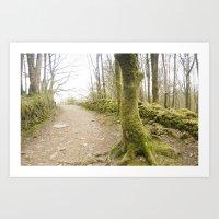 moss Art Prints featuring Moss by TomP