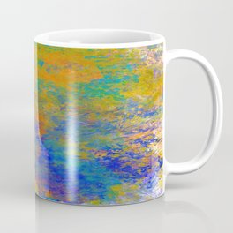 Abstract in Washed Textures Coffee Mug