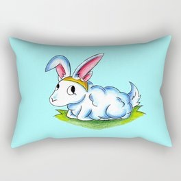 Bunny Fluff Rectangular Pillow
