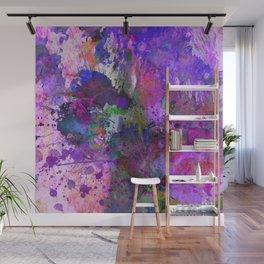 Lilac Chaos - Abstract Wall Mural