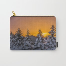 Winter Sunset 4 Carry-All Pouch
