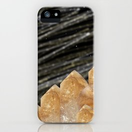 Mountains of citrine iPhone Case