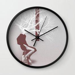 F. Tree Wall Clock