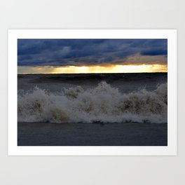 Waves & Storms 1 Art Print