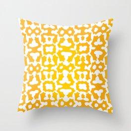 Orangesicle Pattern Throw Pillow