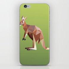 Geometric Kangaroo iPhone & iPod Skin