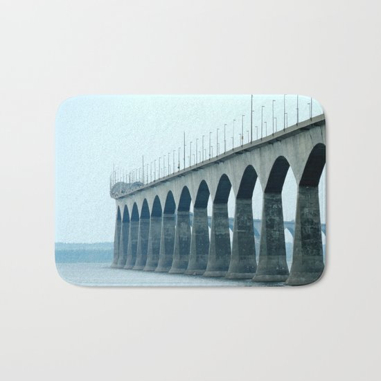 Confederation Bridge Prince Edward Island Bath Mat