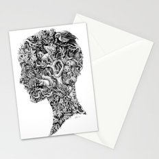 Portrait of Autumn Stationery Cards