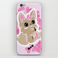 cookie iPhone & iPod Skins featuring Cookie! by gdChiarts