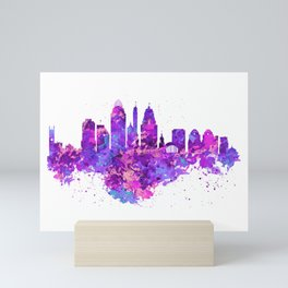Cincinnati Skyline Mini Art Print