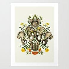Love Your Bones Art Print