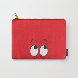 Monster Eyes Red Carry-All Pouch