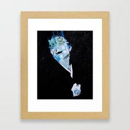 Nameless head 3. 2013. Framed Art Print