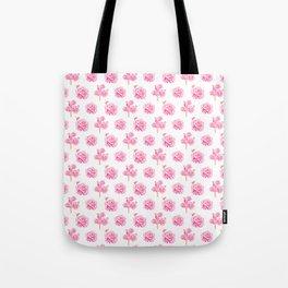 Rose Pop Pattern Tote Bag