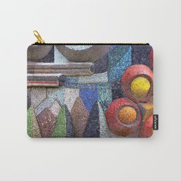 abstract mosaic Carry-All Pouch