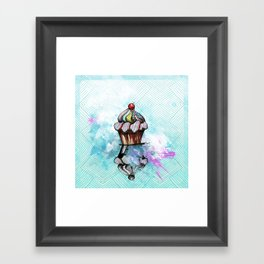 ColorCake Framed Art Print