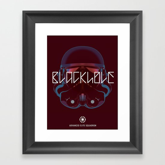 Blackhole Squadron Framed Art Print