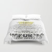 vodka Duvet Covers featuring Graphic Vodka  by MarianaLage