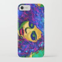 selena gomez iPhone & iPod Cases featuring Selena (pop) by    Amy Anderson