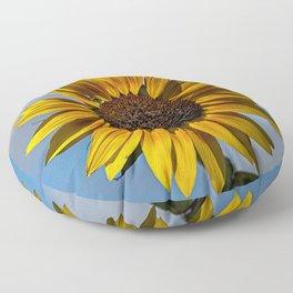 Sun's Flower Floor Pillow